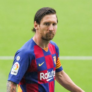 Leo Messi Barca trist Europa Press
