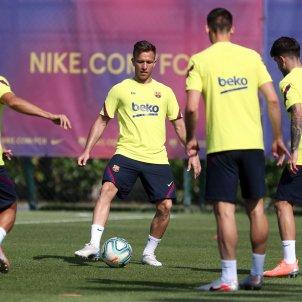 Arthur entrenament Barca FC Barcelona