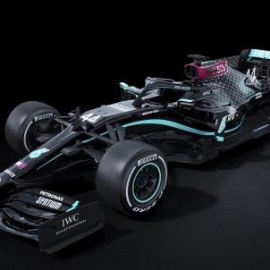 Mercedes negre cotxe @MercedesAMGF1