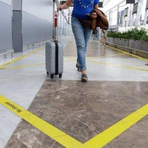 unio europea aeroport maleta viatge arribades - efe