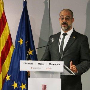 Miquel Buch durant la roda de premsa per l'auditoria dels Mossos - ACN 29/06/2020