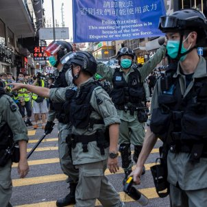 Manifestación Xina llei seguretat EFE