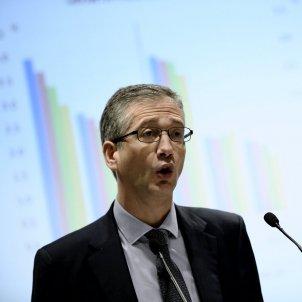 EuropaPress 2647166 presidente banco espana pablo hernandez cos intervencion inauguracion