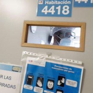 Hospital Gregorio Marañón de Madrid coronavirus - efe