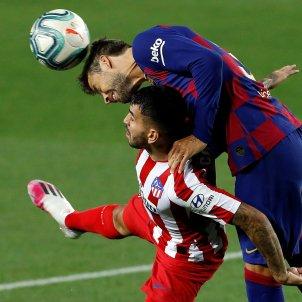 Gerard Pique Barca Atletic Madrid EFE