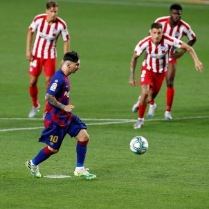 Leo Messi 700 Atletic Madrid Barca EFE