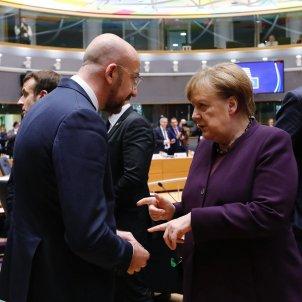 Charles Michel i Angela Merkel ACN