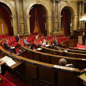 Oposició distancia de seguretat diputats hemicicle Ple Covid-19 coronavirus parlament - Sergi Alcàzar