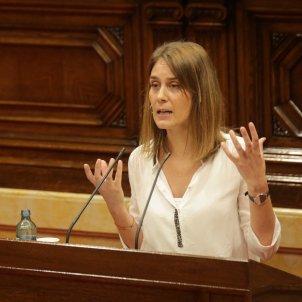Jessica Albiach Comuns ple monogràfic Covid-19 Parlament - Sergi Alcàzar