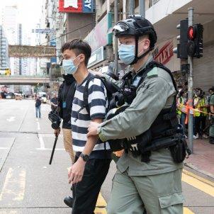 Detenció hong kong protestes