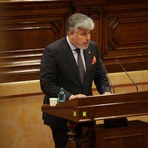 Albert Batet JxCat monogràfic Covid-19 Parlament - Sergi Alcàzar