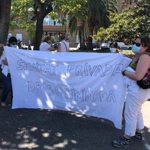 protesta sanitat privada paga govern - @SATSECatalunya