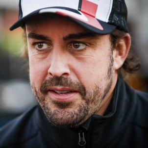 Fernando Alonso primer pla Europa Press