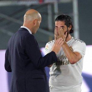 Isco Zidane Reial Madrid Getafe EFE