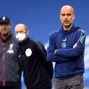 Pep Guardiola Manchester City Klopp Liverpool Europa Press