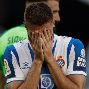 David Lopez mans cara trist Espanyol Leganes EFE