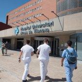 Hospital Arnau de Vilanova Lleida Coronavirus - Europa Press