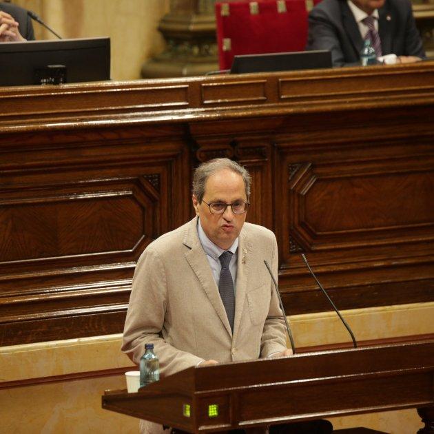 Quim Torra - Parlament - Sergi Alcázar
