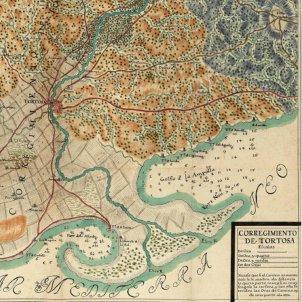 test 104 el delta de l ebre mapa borbonic del delta de l ebre segle xviii font cartoteca de catalunya