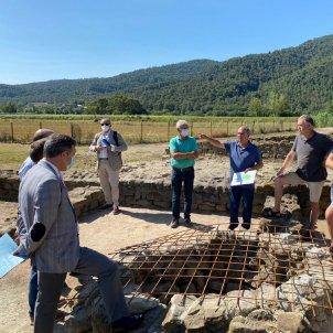 Excavacions arqueologia @museusbanyoles