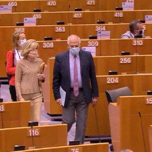 Borrell Parlament Europeu Mascareta