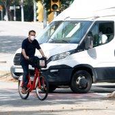 bicing coronavirus mascareta bicicleta - acn