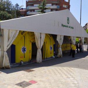 Carpa coronavirus Lleida - Diputació Lleida
