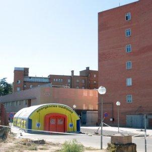 Carpa Hospital Arnau de Vilanova Lleida Segrià- Acn