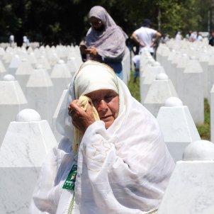 Homenatge Srebrenica 25 anys - EFE