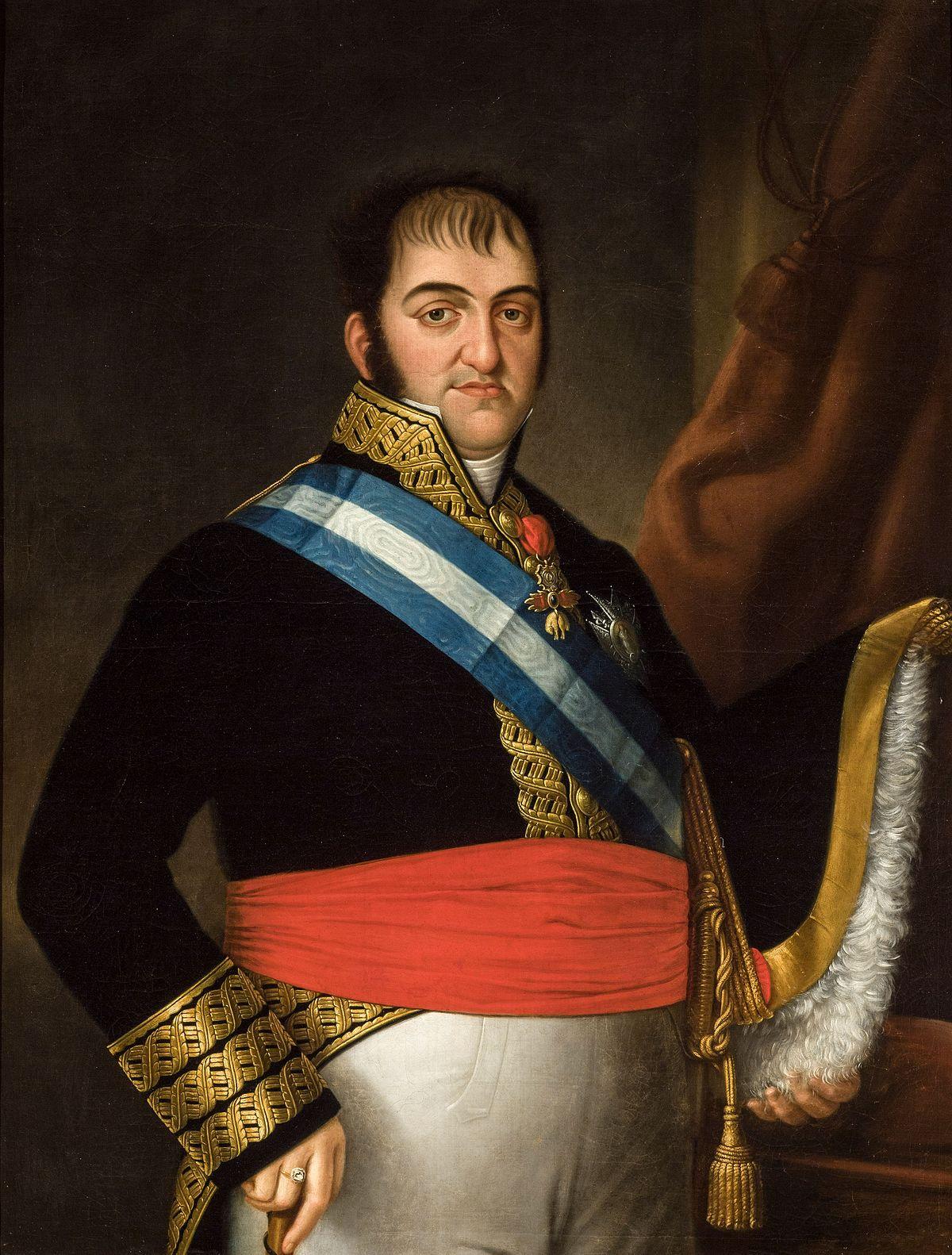 Fernando VII (1831), obra de Luis de la Cruz. Fuente Ayuntamiento de Sevilla