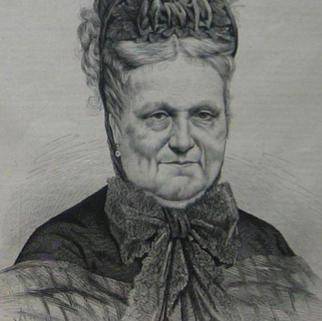 Maria Cristina de Borbó (circa 1870). Fuente La Ilustración Española y Americana