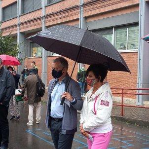 EuropaPress 3231878 lehendakari mujer van votar durango bizkaia