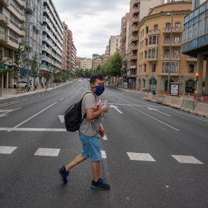 Lleida confinament EFE