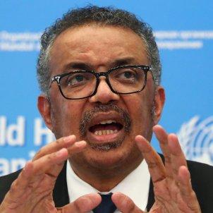 director general l'Organització Mundial de la Salut (OMS) Tedros Adhanom Ghebreyesus - ACN