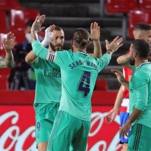 Benzema Sergio Ramos Granada Reial Madrid EFE
