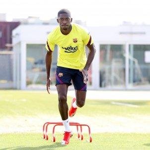 Dembele entrenament Barça FC Barcelona