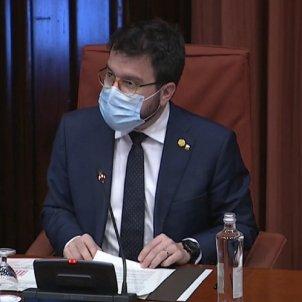 Pere Aragones Parlament
