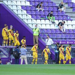 Barca jugadors Valladolid Lliga Europa Press