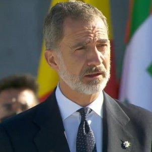 Rei Felip VI homenatge discurs coronavirus E.N.