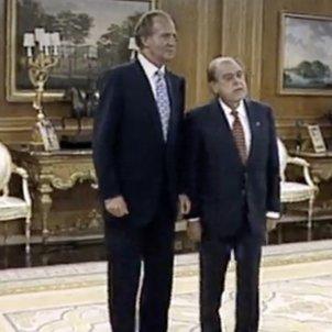 Juan Carlos I i Jordi Pujol Zarzuela