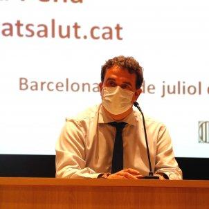 Adrià Comella, director CatSalut ACN