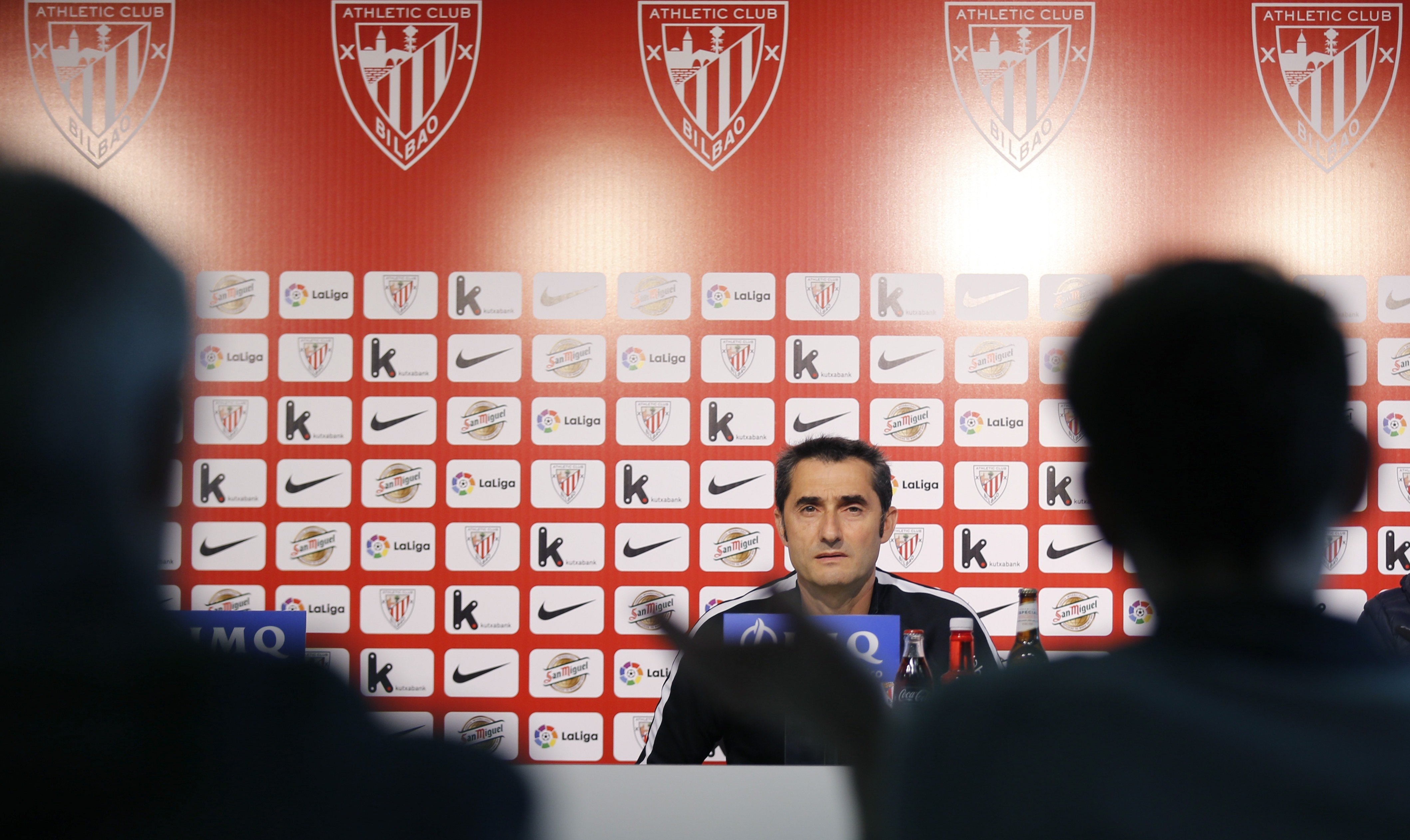 Ernesto Valverde roda de premsa Athletic San Mamés EFE