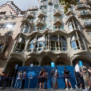 casa Batllo coronavirus Barcelona EFE
