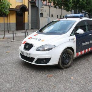 jutjats Girona amb cotxe de Mossos