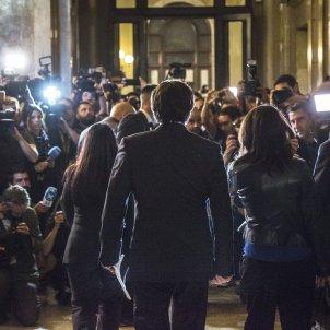 Carles Puigdemont DUI 27 octubre 2017 Parlament - Sergi Alcàzar