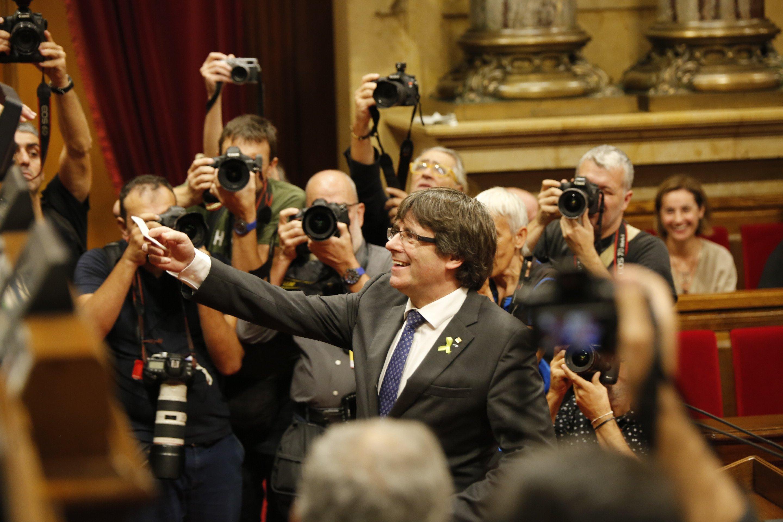 Puigdemont continuará sin escolta en el exilio