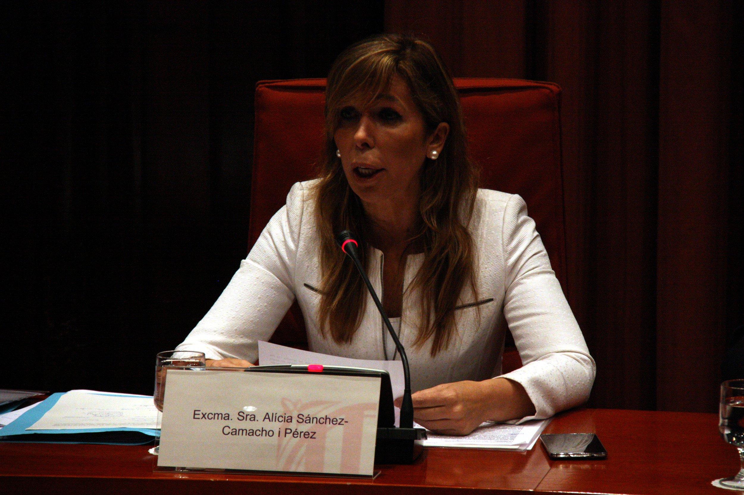 Alícia Sánchez-Camacho Parlament - ACN
