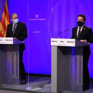 Torra Aragonès pla economic Covid-19 Jordi Bedmar
