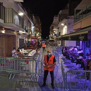 coronavirus control oci nocturn carrer del pecat Sitges ACN