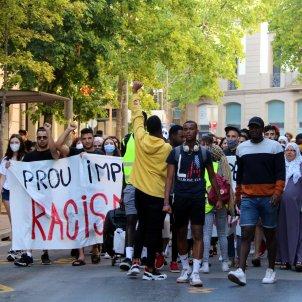 manifestació contra agressió racista Bages ACN